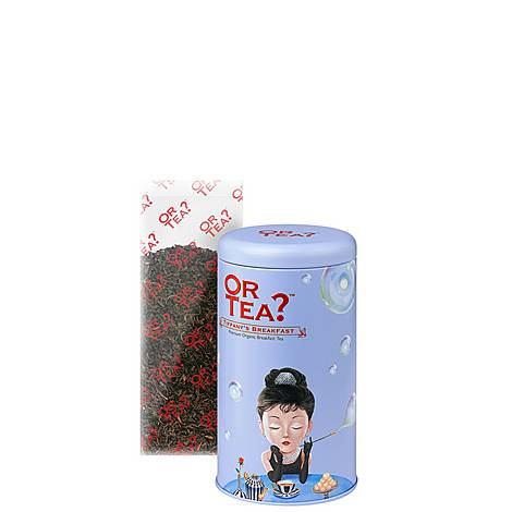 Organic Tiffany's Breakfast Tea Canister, ${color}