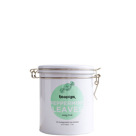 Peppermint Leaves Tea Tin 40g, ${color}