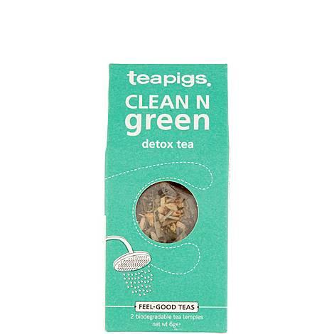 Clean n Green Detox Tea 6g, ${color}
