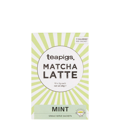 Mint Matcha Latte Sachets 20g, ${color}