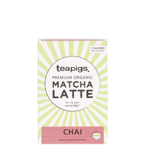 Chai Matcha Latte Sachets 20g, ${color}