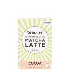 Cocoa Matcha Latte Sachets 20g