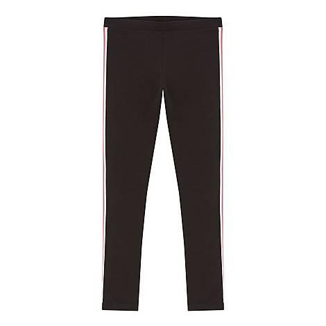 Sporty Stripe Leggings, ${color}