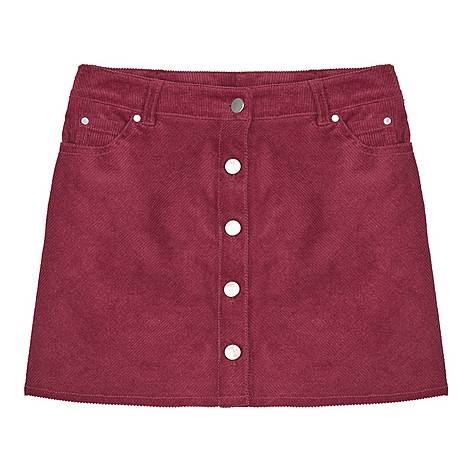 Corduroy Berry Skirt, ${color}