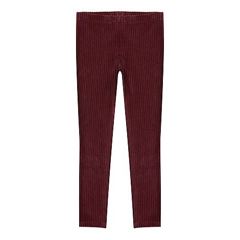 Corded Berry Leggings, ${color}