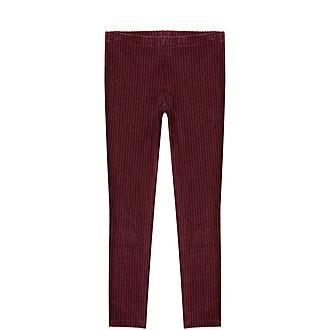 Corded Berry Leggings