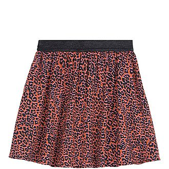 Margot Leopard Print Skirt
