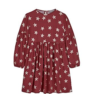 Bessie Star Print Dress