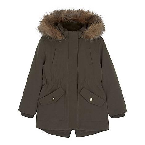 Faux Fur Hooded Parka, ${color}