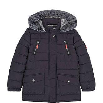 Hooded Long Padded Coat