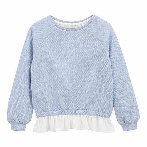 Ruffled Sweatshirt, ${color}