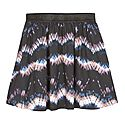 Tie-Dye Print Skirt, ${color}