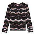 Tie-Dye Print Jersey T-Shirt, ${color}