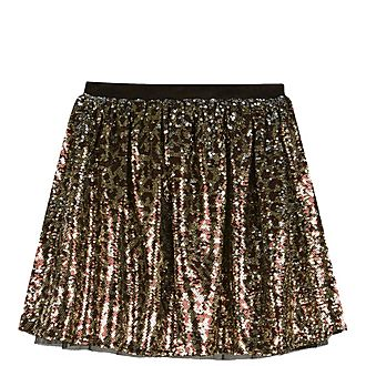 Animal Sequin Tutu Skirt