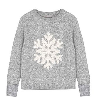 Snowflake Fluffy Sweater