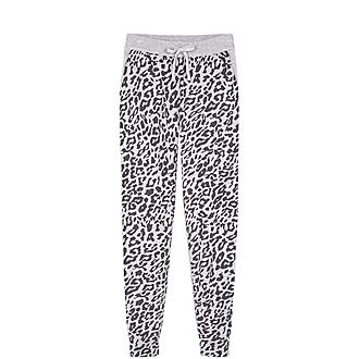 Leopard Knitted Joggers