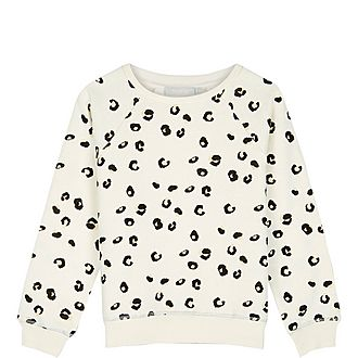Mia Animal Print Sweatshirt