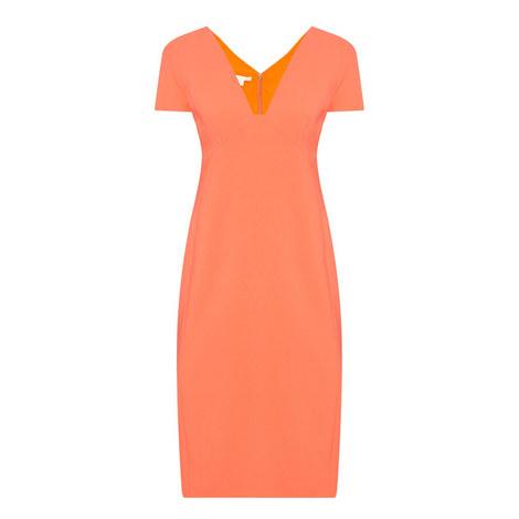 Maria V-Neck Dress, ${color}