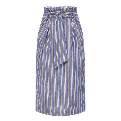 Jordon Striped Skirt, ${color}