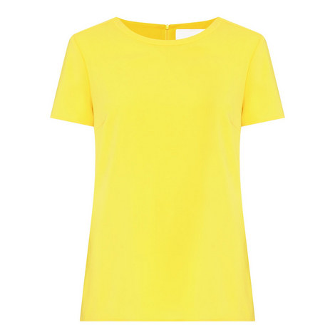 Ilyna Short Sleeve Top, ${color}