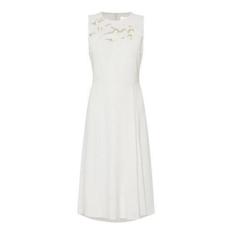 Deffy Sequinned Sleeveless Dress, ${color}