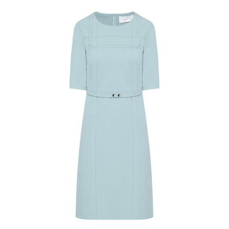Hyrea Short-Sleeved Dress, ${color}