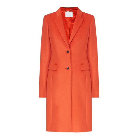 Cavyla Single Breasted Coat, ${color}