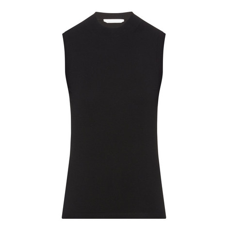 Fabrili Sleeveless Knitted Top, ${color}