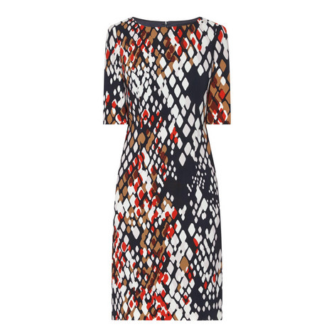 Dinomi Patterned Dress, ${color}