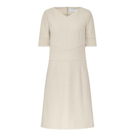 Hapina Half Sleeve Dress, ${color}