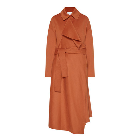 Cudrape Wool Mix Coat, ${color}
