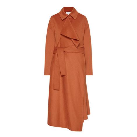 Cudrape Wool Mix Coat, ${color}