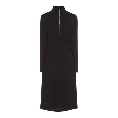 Finanes Zip-Up Midi Dress, ${color}