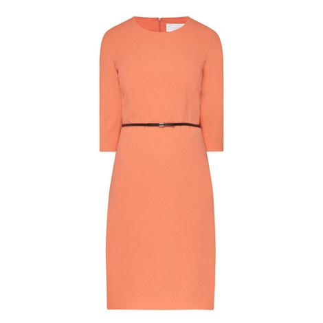 Hallia Belted Dress, ${color}