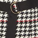 Vulnona Houndstooth Skirt, ${color}
