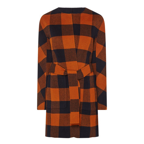Reversible Plaid Coat, ${color}