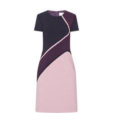 Dukatia Colour-Block Dress