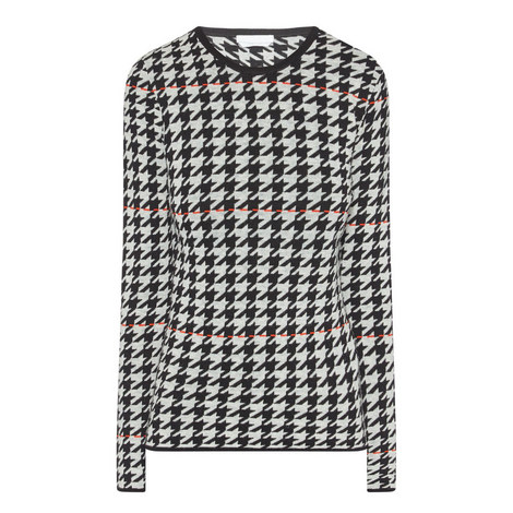 Fatma Houndstooth Top, ${color}