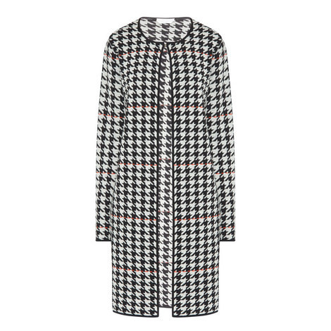 Farley Houndstooth Cardigan, ${color}