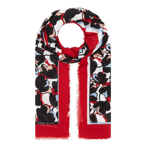 Larnie Patterned Scarf, ${color}