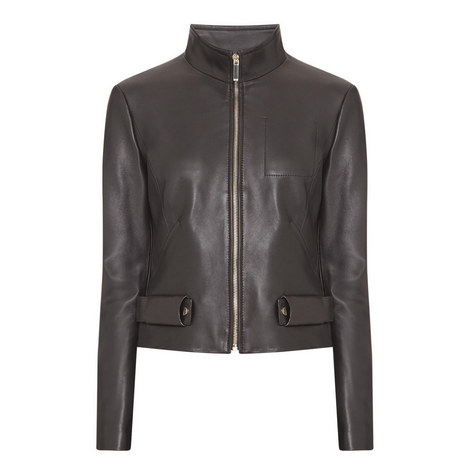Sanuva Leather Jacket, ${color}