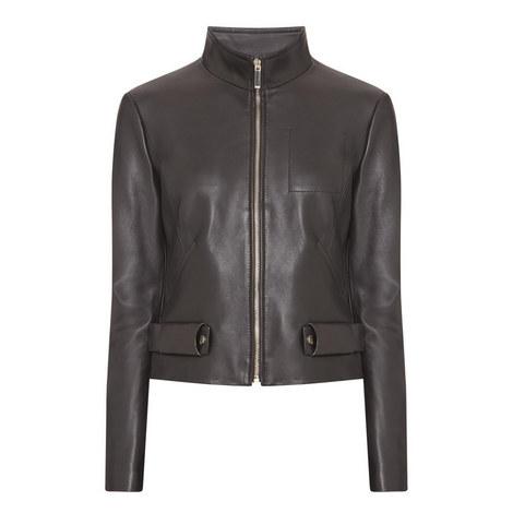 Sanuva Leather Jacket, ${color}