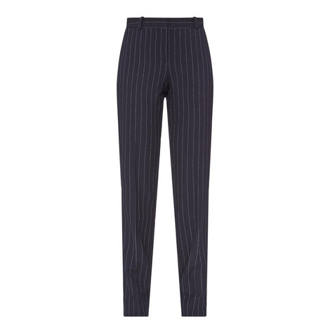 Titana Pinstripe Trousers, ${color}