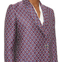 Carines Patterned Coat, ${color}