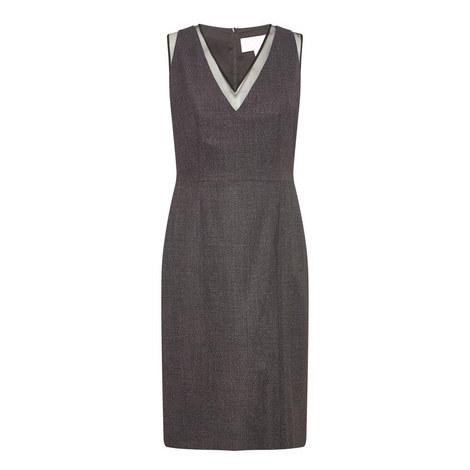 V-Neck Dress, ${color}