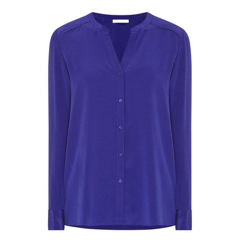 Rosalia Silk Shirt, ${color}