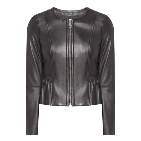 Sahota Leather Jacket, ${color}