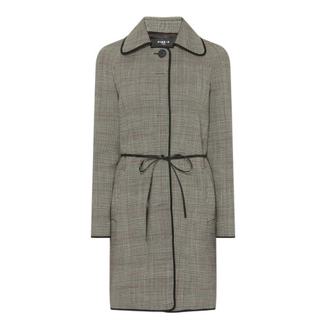 Prince of Wales Plaid Coat, ${color}