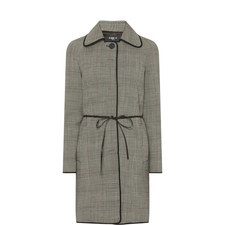 Prince of Wales Plaid Coat