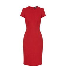 Short-Sleeved Pencil Dress